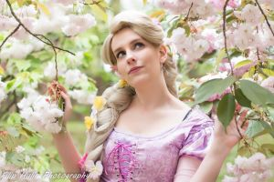 Rapunzel Cosplay by sakykeuh