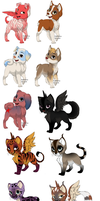 free kitten and puppy adopts .closed. by Odscene