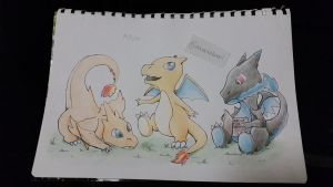 Baby Mega Charizard X and Y by Eeveelutionarii