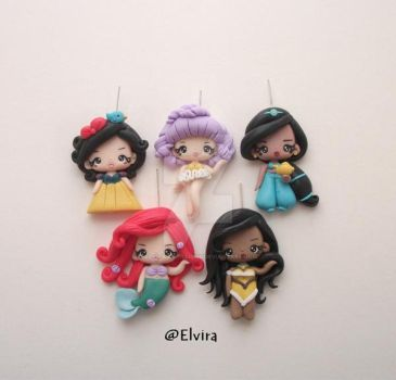 Polymer clay dollies ^___^ by elvira-creations