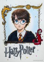 Baby Harry Potter by Emilymeganx