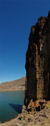 Lake Owyhee Cathedral Rock 1 by eRality