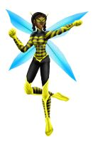 Teen Titans: Bumblebee-Colored by Valor1387