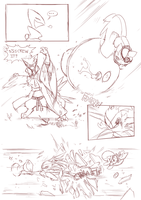 Foreign Shadows  page 15 draft by ChillySunDance