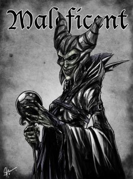 Maleficent by jeftoon01