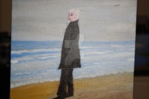 Solitude- oil by JosephJODonnell