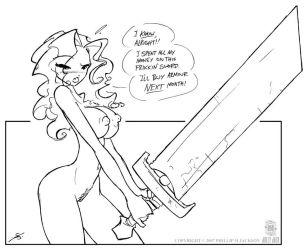 Expensive Sword by jollyjack