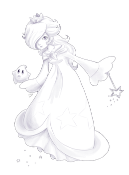 Day3: Rosalina by Lady-of-Link