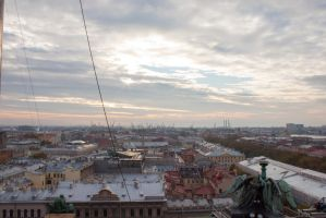 Cityscape Roofs 28 by ManicHysteriaStock