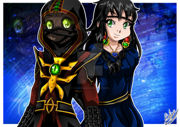 Request: Ermac and Jeifara by YukariAsano