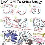 Sonic Drawing Advice by chobitsG