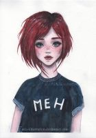 MEH by ARiA-Illustration