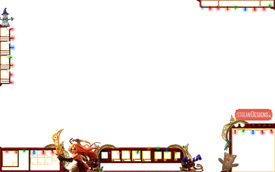 Christmas League of Legends Overlay by m3ndi3