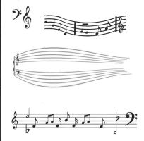 Music tattoo ideas by stitchedXtogether