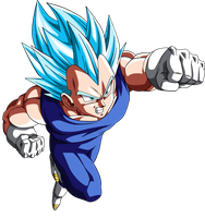 Vegeta-True-Super-Saiyan-God by ArmorKingTV21