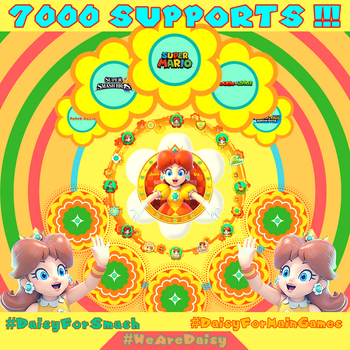 7000 supports for the biggest Daisy petition ! by DaisyForfuture