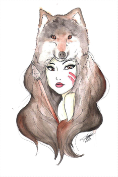 Spirit of the Wolf by jennbeans