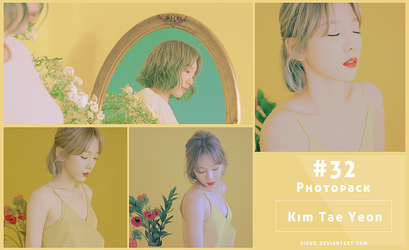 #32 Photopack- Taeyeon [My voice] 18P by Siguo