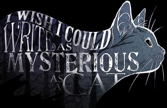As Mysterious As A Cat by AbelPhee