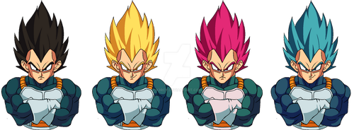 Vegeta transformations by K3RCY