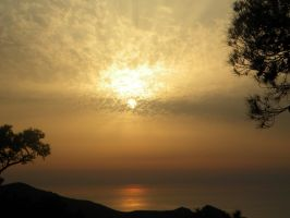 Spring's Beautiful sunset by kailor