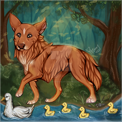 Steph - Duck Watching Tag by SurefootDesigns