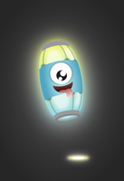 zOMG Ghost Lantern Kid by wildgica