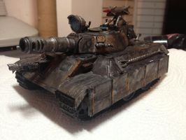 Leo Experimental Battle Tank by EngineofWar