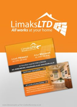 Limaks  logo and business card by wiz24