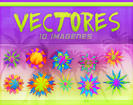 +RECURSOS Y MAS: Vectores 2 pack by CAMI-CURLES-EDITIONS
