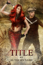Cover Design Contest - Couple fighting poses 2 by GrafXthings