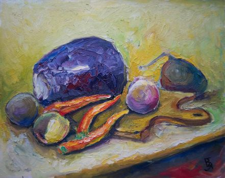 Vegetable still life by yarlyk