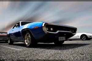 Plymouth GTX - Standin strong by Immerse-photography