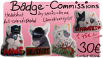 Traditional Badge commissions are OPEN! by DinskiSchokinski