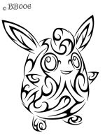 #040: Tribal Wigglytuff