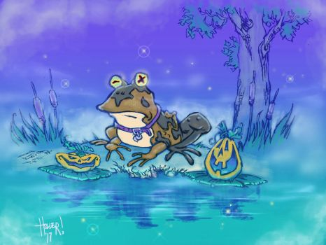 Hypnotoad by christophermholler