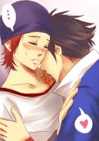 Fushimi and Yata by pakkiedavie