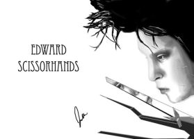 Edward Scissorhands by TotalArtFreak