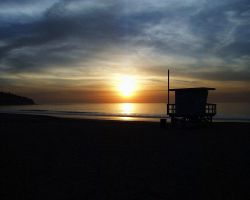 A Thanksgiving Sunset by DarciGibson