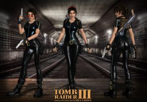 Lara Croft TRIII London Catsuit by Lerova by Lerova