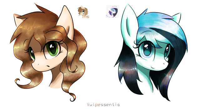 Tea and Cruton Icons by Vulpessentia
