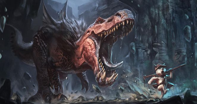 Anjanath pursuit by RAPHTOR