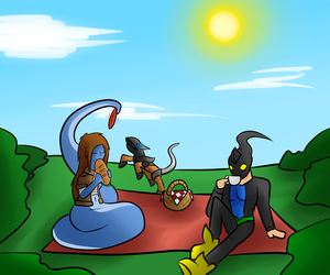 Request: Picnic by Saragonvoid