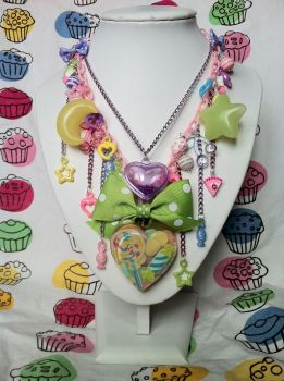 Pastel Candy Statement Necklace by lessthan3chrissy