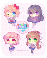 Doki Doki Lit Club by Shirouu-kun