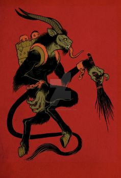 Der Krampus by missmonster