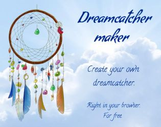 Dreamcatcher maker by Mildegard