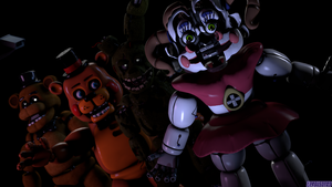 (FNaF SFM) A new face of fun by Fer-Ge