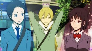 Durarara Trio by Cyolx