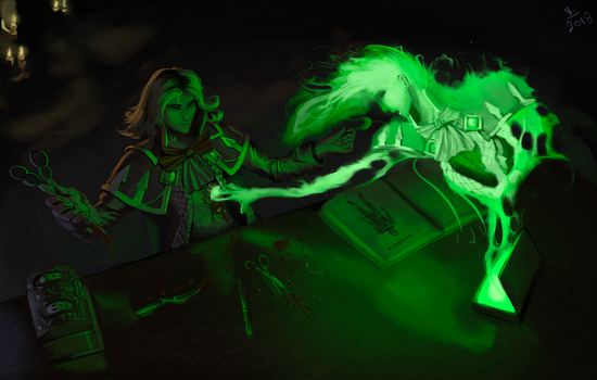The First Phylactery by NSilverDraws